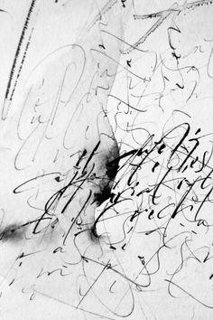 Les larmes de la Cariatide Christel - Llop 2011 #calligraphy #calligraphyart #calligraphydesign #artwork