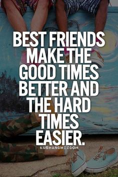 Top 20 best Friend Quotes . Friendship Forever | They do! | @katepisors
