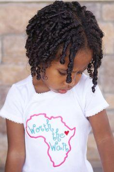 Ethiopia Africa Congo Adoption Awareness Worth by AllRibbonedOut, $18.00