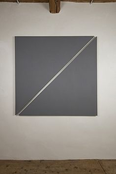Alan Charlton, Triangle Painting