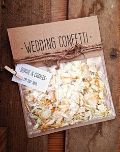 Rustic Personalised Wedding Confetti Bag (with real flower confetti) Diy Wedding, Rustic Wedding, Wedding Ideas, Confetti Bags, Wedding Confetti, Real Flowers, Potpourri, Personalized Wedding, Flower Arrangements
