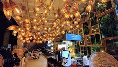 Amazing interioir decor at Proto Cafe, Tallinn.