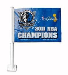 New! Dallas Mavericks Banner Flag - 2011 Champions #DallasMavericks
