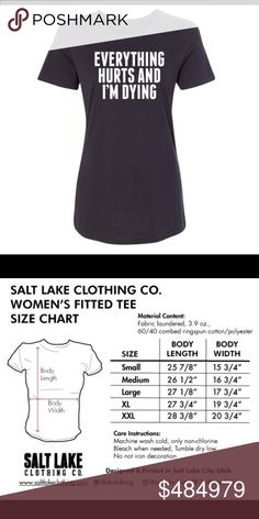 ❤️❤️ COMING SOON ❤️❤️ These beauties are coming in soon. 👍🏻 to keep updated when they come in and for more information 😘 Salt Lake Clothing Tops Tees - Short Sleeve