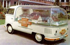 """Schwäbisch Hall"" VW Bus- Germany, 1950's/60's Via, Mandrake De Mille The story of the so-called ""Snow White's Coffins"", in German, Circa 1970"