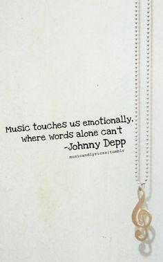 #music #quote #johnnydepp