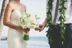 Maui Wedding Bouquet by Dellables Olowalu Plantation House Maui Wedding by Maui's Angels Weddings