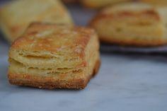 Light and flaky gluten free cornmeal biscuits. ☀CQ #GF #glutenfree