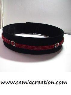DIY ceinture marocaine   http://www.samiacreation.com/diy-en-video-caftan-marocain-en-velours/