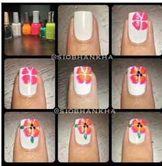 The Best Diy Projects Ideas And Tutorials Sewing Paper Craft Tips Nails Art 2017 2018 Flower Nail Tutorial Read More