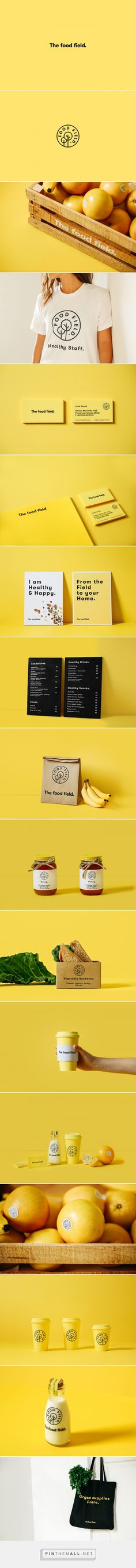 The Food Field branding - Mindsparkle Mag - created via https://pinthemall.net