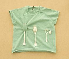 The spoon brooch, Maki Okamoto