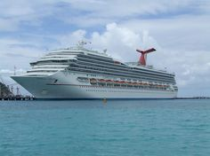 Carnival Valor - our ship...flying into San Juan then visiting st Thomas Barbados st Lucia st kitts and phillipsburg can't wait hurry up aug