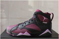 quality design df4cc 01290 Jordan VII(7) Black Purple pink Women-041. Paulnor · air jordan 7 men size  shoes