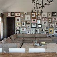 Photo Wall Design Ideas, Pictures, Remodel, and Decor - page 2
