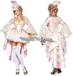 <3 Disfraz dama victoriana (tallas M y XL)  womanweapons.com