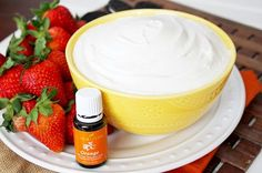 Creamy, dreamy cheesecake dip recipe infused with Orange Essential Oil! Made in less than 10 minutes, devoured in about the same amount of time!