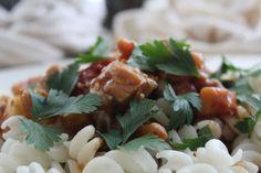 Honey-Rosemary-Chicken on Quinoa Rice Fusilli. Recipe by Malinda van Zyl Photos by William van Zyl