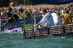 Build a boat made out of beer cans at the Darwin Beer Can Regatta, in the Northern Territory, Australia. Festivals Around The World, Darwin, Making Out, To Go, Wanderlust, Deck, Around The Worlds, Beer Cans, England