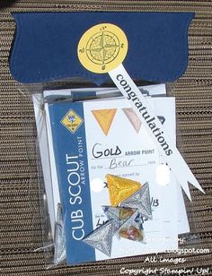 Nicole found these for me. Individual bags for awards at Pack Meeting. (Cello bags 4 x 6)