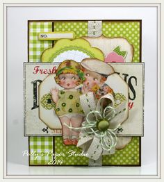 Sweet Summer Colors Greeting Card Handmade by PollysPaper on Etsy, $7.50