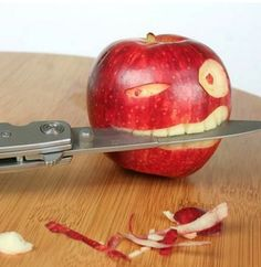 This apple has gone cray cray...
