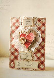 Arts&Crafts keep me sane.....: Miłość ci wszystko wybaczy