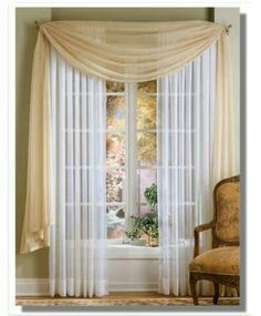 Easy To Make Curtain Rod Cover With Images Curtains Curtain