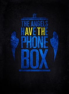 "The best ""the angels have the phone box"" design I've ever seen"