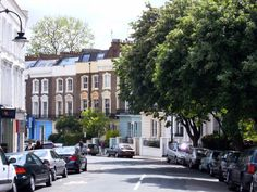 This was the top of my street in Primrose Hill. Oh how I miss my old neighborhood!