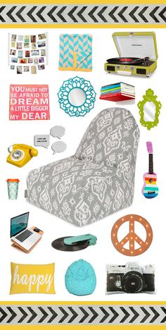 Decorate your dorm room from Dot & Bo