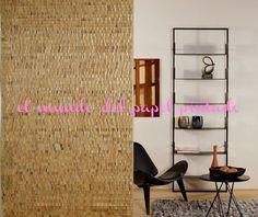 NOMAD Las hojas de nenúfar son tejidas en colores brillantes y vibrantes como el verde esmeralda, oro amarillo, burdeos, turquesa, escarchado ébano blanco, marrón y brillante.... http://www.elmundodelpapelpintado.com/ver-articulos-fabricante.asp?variante=1&tipo=rm&estado=fabricante&apartado=papeles&nombre=Omexco&fabricante=4&tar=NOMAD&tarifa=1236