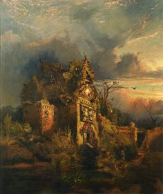Haunted House - Thomas Moran