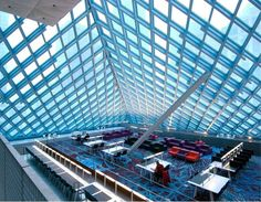 SEATTLE CENTRAL LIBRARY Architect – Rem Koolhaus  Beautiful Architectural Photography by Kristopher Grunert