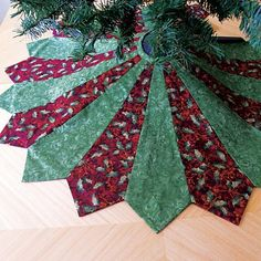 12 Days Of Christmas Sewing Day Easy Tree Skirt