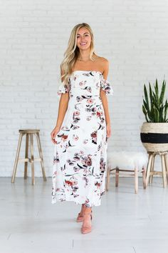 Mid Summers Night Dream Floral Dress