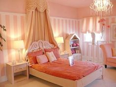 Bedroom : orange-modern-girl-bedroom-design-along-with-orange-fabric-curtain-and-wood-carved-headboard-also-orange-bed-sheet-and-pullow-plus-wood-nighstand-combine-table-lamp-with-crystal-chandelier - Beauty Teenage Girl Room Colors Home Design Ideas Diy Room Decor For Girls, Girls Bedroom Colors, Teenage Girl Bedroom Designs, Girls Room Paint, Bedroom Paint Colors, Girl Bedrooms, Modern Bed Sheets, Small Room Design, Little Girl Rooms