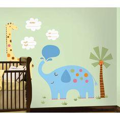 Jungle Animal New Baby MegaPack Wall Stickers - DecorHeaven NZ