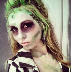 Womens Beetlejuice Halloween Costume  #halloweencostume #halloweenparty #halloween  #womenshalloweencostumes