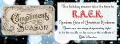 Promote RACK (Random Acts of Christmas Kindness) on Facebook with this cover photo from The More With Less Mom