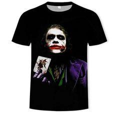 Halloween Face Makeup, Joker, T Shirt, Men, Supreme T Shirt, Tee Shirt, The Joker, Guys, Jokers