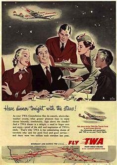 hollyhocksandtulips:  TWA, 1952