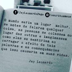 Do meu querido @escritosmeus  #boanoite #boasvibrações #positividade #goodvibes #empatia #terapiadaalma