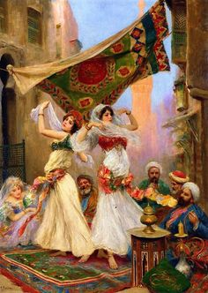 Fabio Fabbi [1861-1906] one of the most famous and commercially successful Italian artists of the Orientalists.  Fabio Fabbi was born in Bologna, Italy. As a young man, he enrolled at the Academia Di Belle Art in Florence and studied & won prizes in sculpture & painting in the 1880s. He traveled to Paris, Munich, and finally ( Egypt & Cairo 1886). On returning to Italy, he dedicated himself solely to painting and was honored with the distinction of professor...