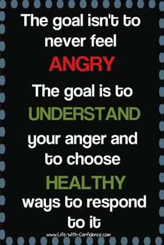 """With all the """"Be Positive"""" messages out there, it can feel wrong to get angry, but it's okay to feel anger and it's healthy. Positive Messages, Positive Quotes, Anger Management Quotes, Anger Management For Adults, Wisdom Quotes, Life Quotes, Qoutes, Great Quotes, Inspirational Quotes"""