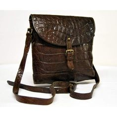 Mulberry vintage brown congo leather shoulder bag ❤ liked on Polyvore