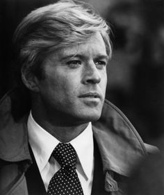 Classically handsome Robert Redford. Back when he was young anyways.