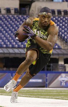 Former UH cornerback Edwards at NFL combine