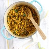 One Pot Brazilian Chickpeas and Rice - Emma's Little Kitchen