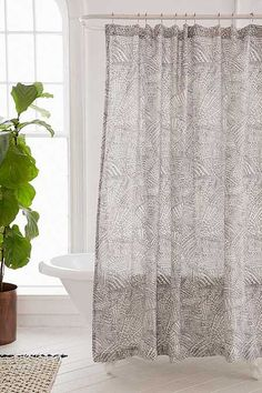 shop dotted geo print shower curtain at urban outfitters today we carry all the latest styles colours and brands for you to choose from right here